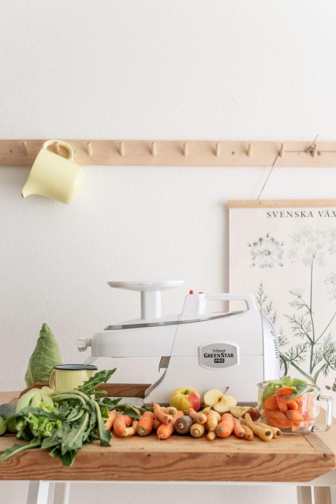 Frisch gepresste Säfte - mein Morgenelixier | Gesunde vegane Rezepte, Fermentation, Nachhaltigkeit - Syl Gervais