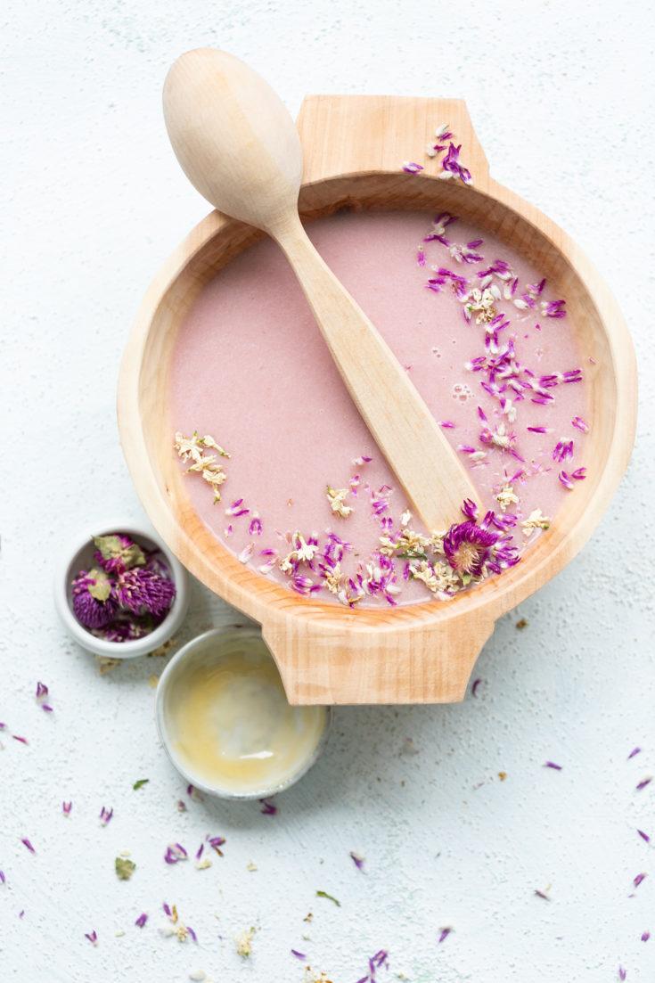 Vegane Radieschensuppe mit Kokosmilch