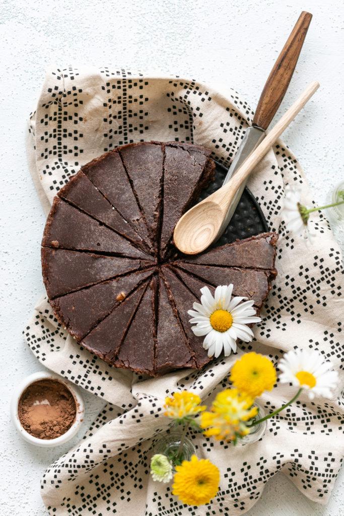 Last minute Brownie mit Peanutbutter | Gesunde vegane Rezepte, Fermentation, Nachhaltigkeit - Syl Gervais