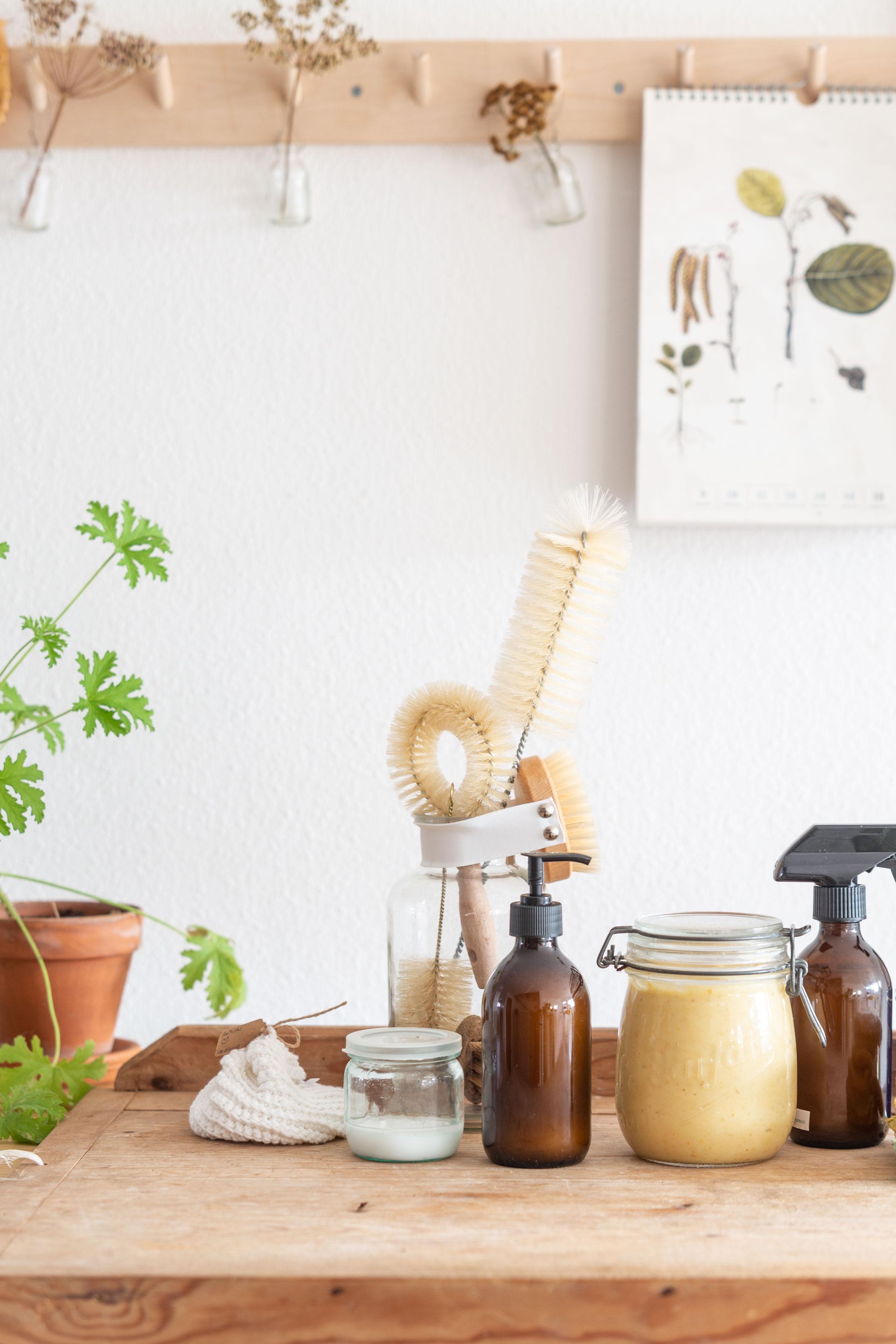 Apfelessig - Putzmittel selber machen | Gesunde vegane Rezepte, Fermentation, Nachhaltigkeit - Syl Gervais
