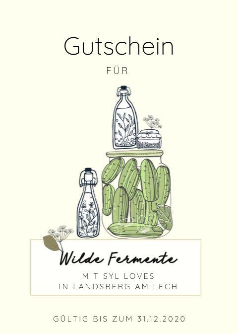 Gutscheine | Gesunde vegane Rezepte, Fermentation, Nachhaltigkeit - Syl Gervais
