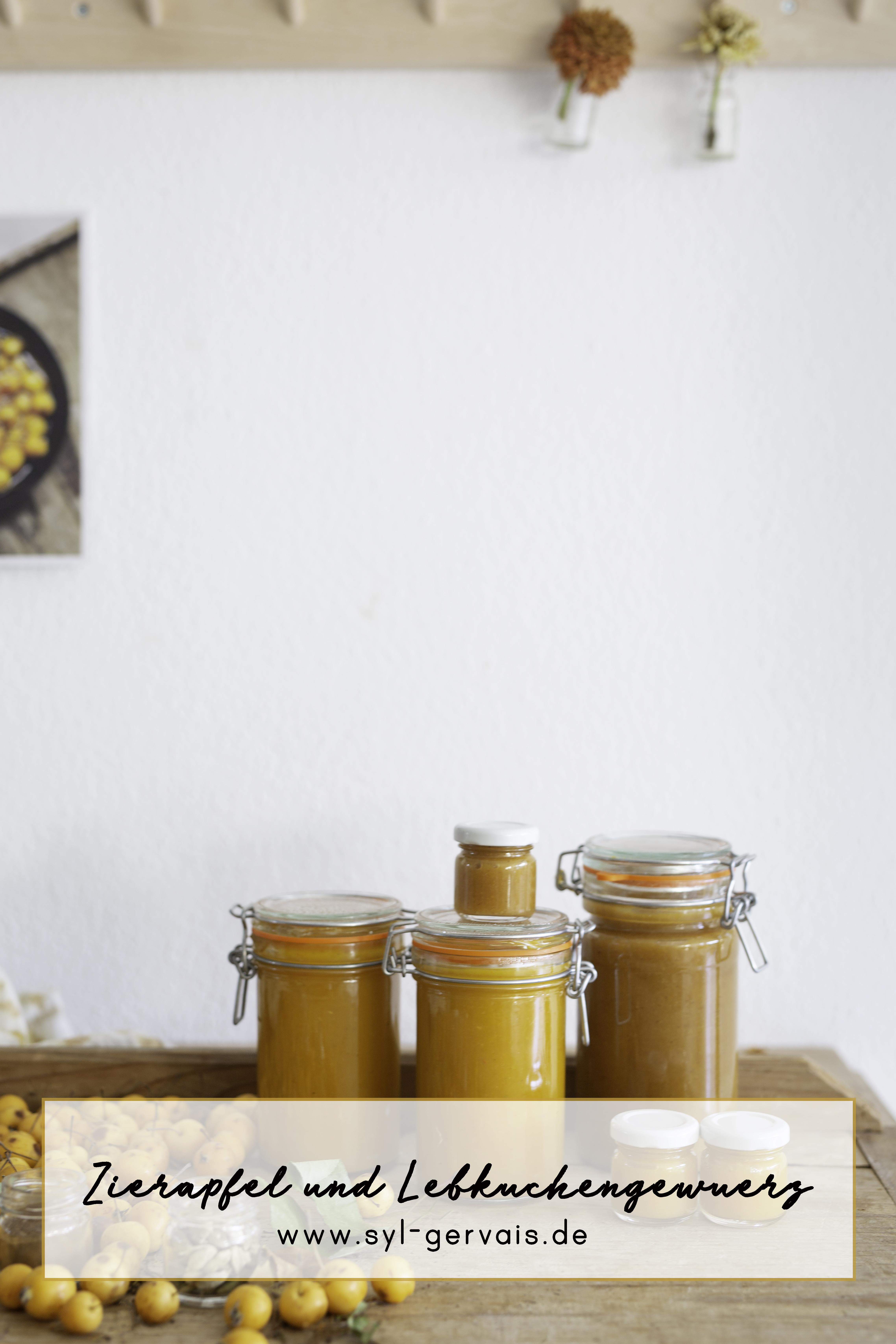 Zieräpfel Marmelade mit Lebkuchengewürz | Gesunde vegane Rezepte, Fermentation, Nachhaltigkeit - Syl Gervais