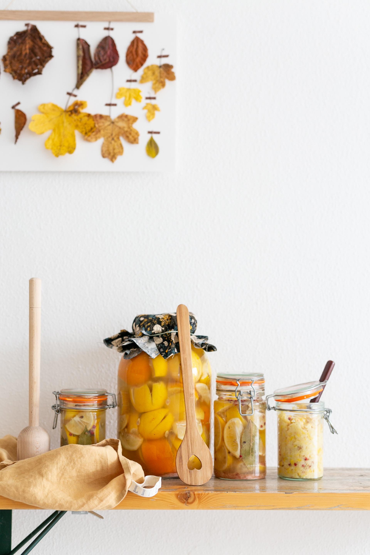 Zitronen fermentieren