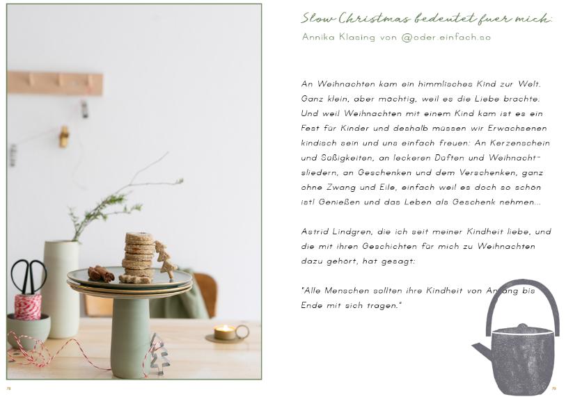 Vegane Weihnachten slow-christmas-mein-ebook