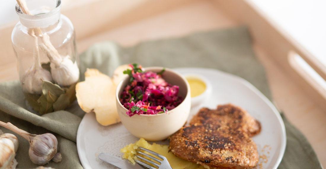 Steckrüben Schnitzel | Gesunde vegane Rezepte, Fermentation, Nachhaltigkeit - Syl Gervais