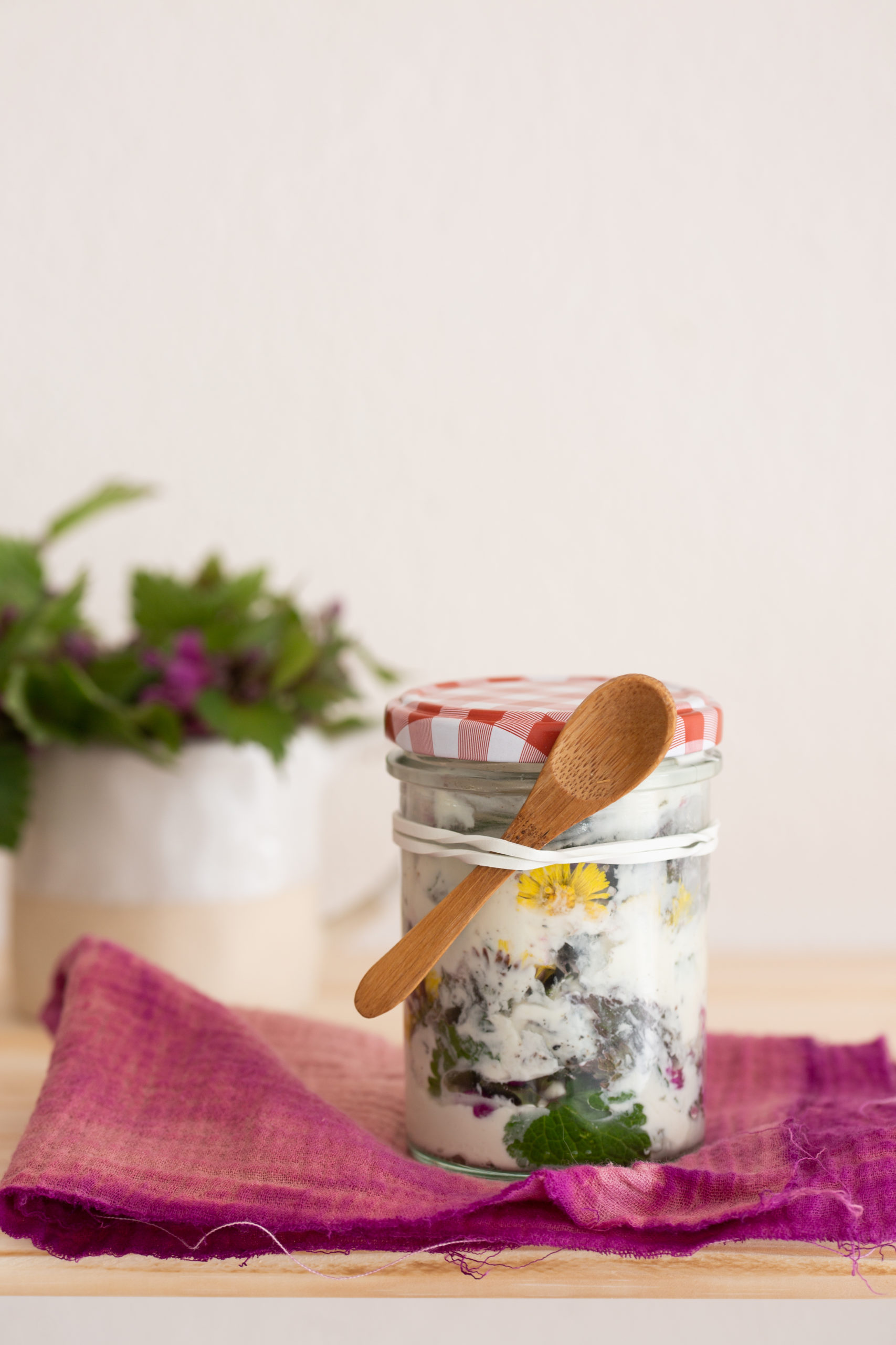 Wildkräuterküche - Taubnessel | Gesunde vegane Rezepte, Fermentation, Nachhaltigkeit - Syl Gervais
