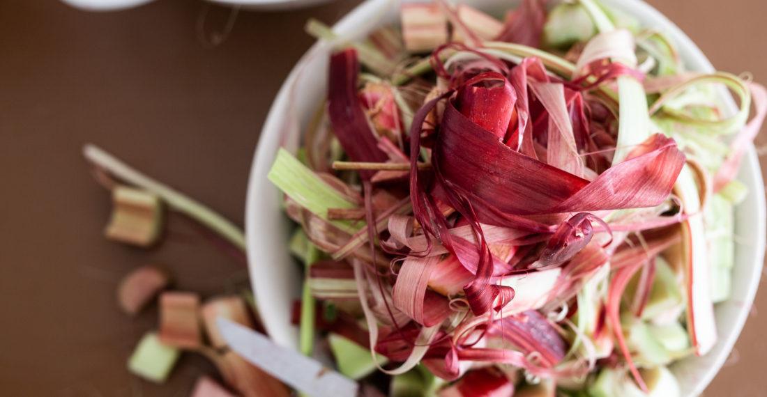 Rhabarbersirup im Eigensaft | Gesunde vegane Rezepte, Fermentation, Nachhaltigkeit - Syl Gervais