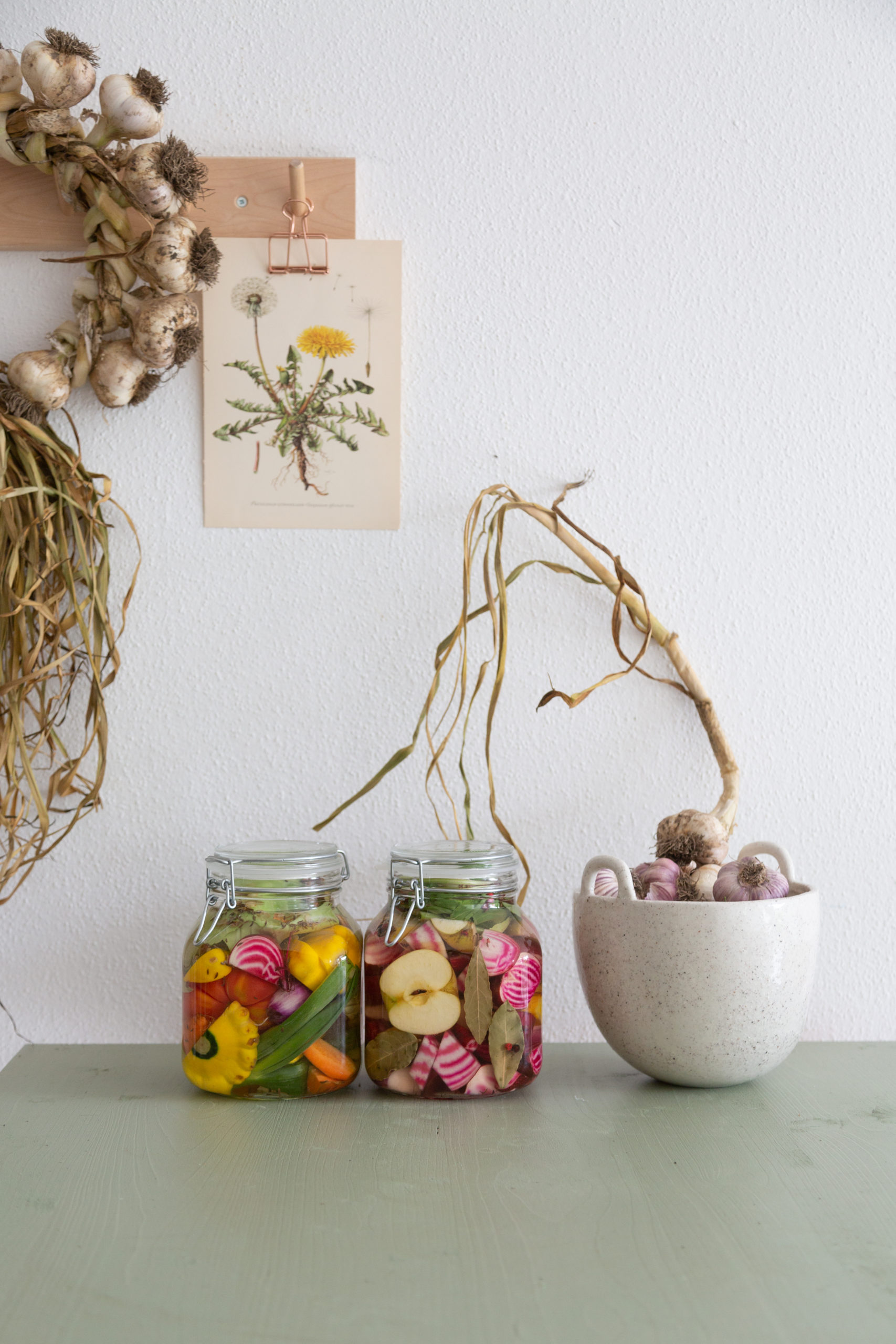 Fermentieren lernen - Online Kurs über Wilde Fermente: buntes Gemüse