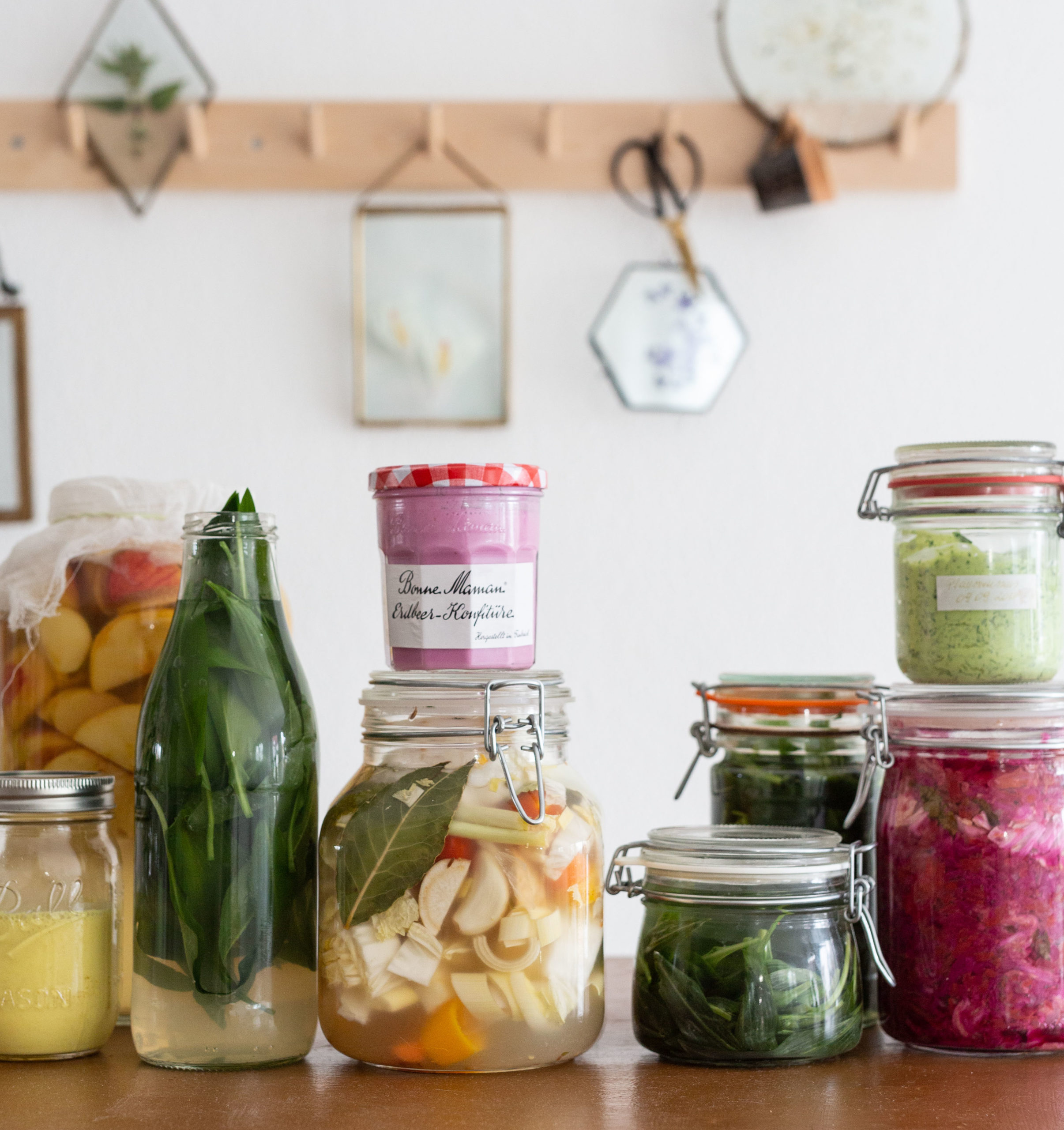 Fermentieren lernen - Online Kurs über Wilde Fermente: probiotische Aufstriche und Soßen