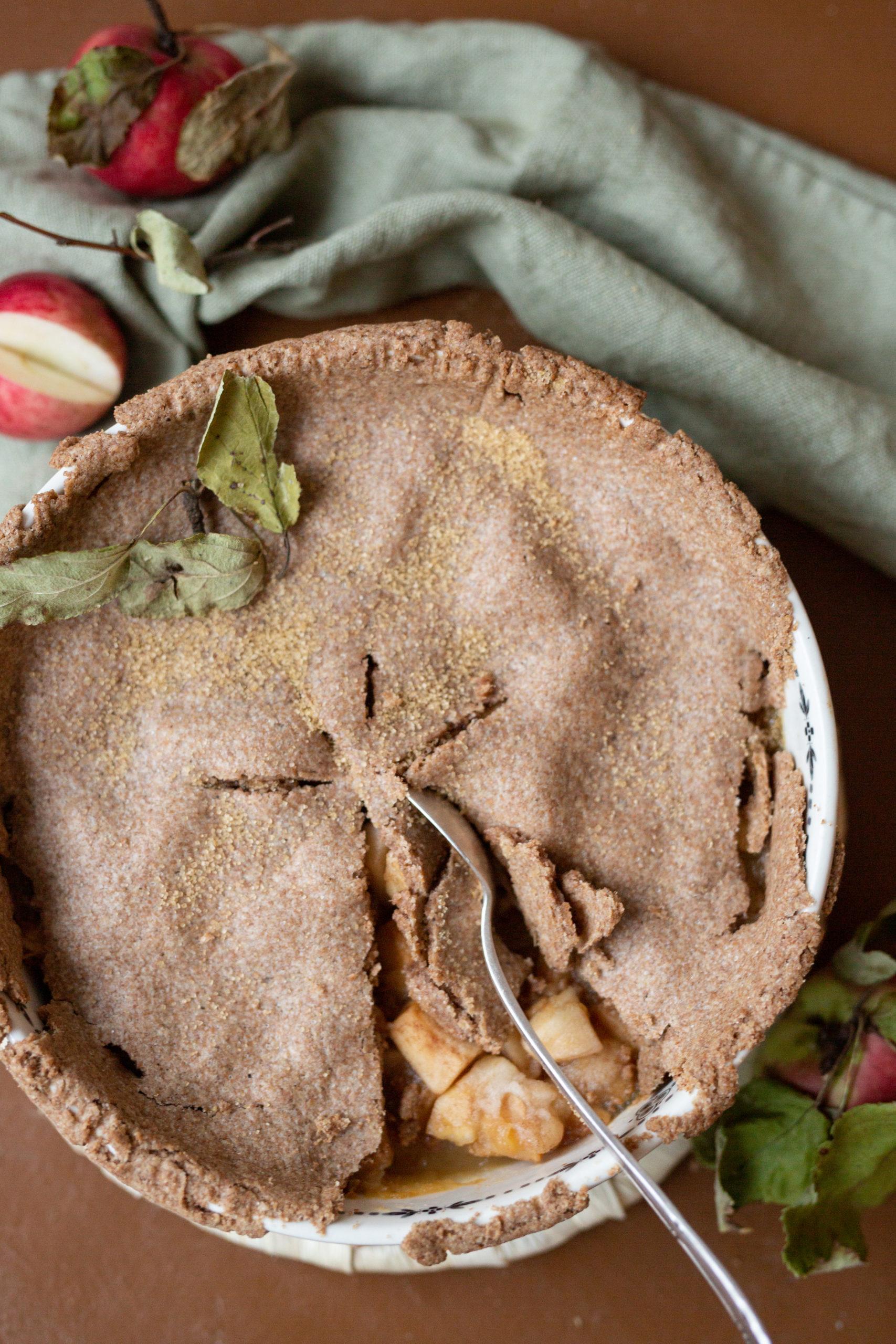 Apple pie - für ein verregnetes Wochenende | Gesunde vegane Rezepte, Fermentation, Nachhaltigkeit - Syl Gervais