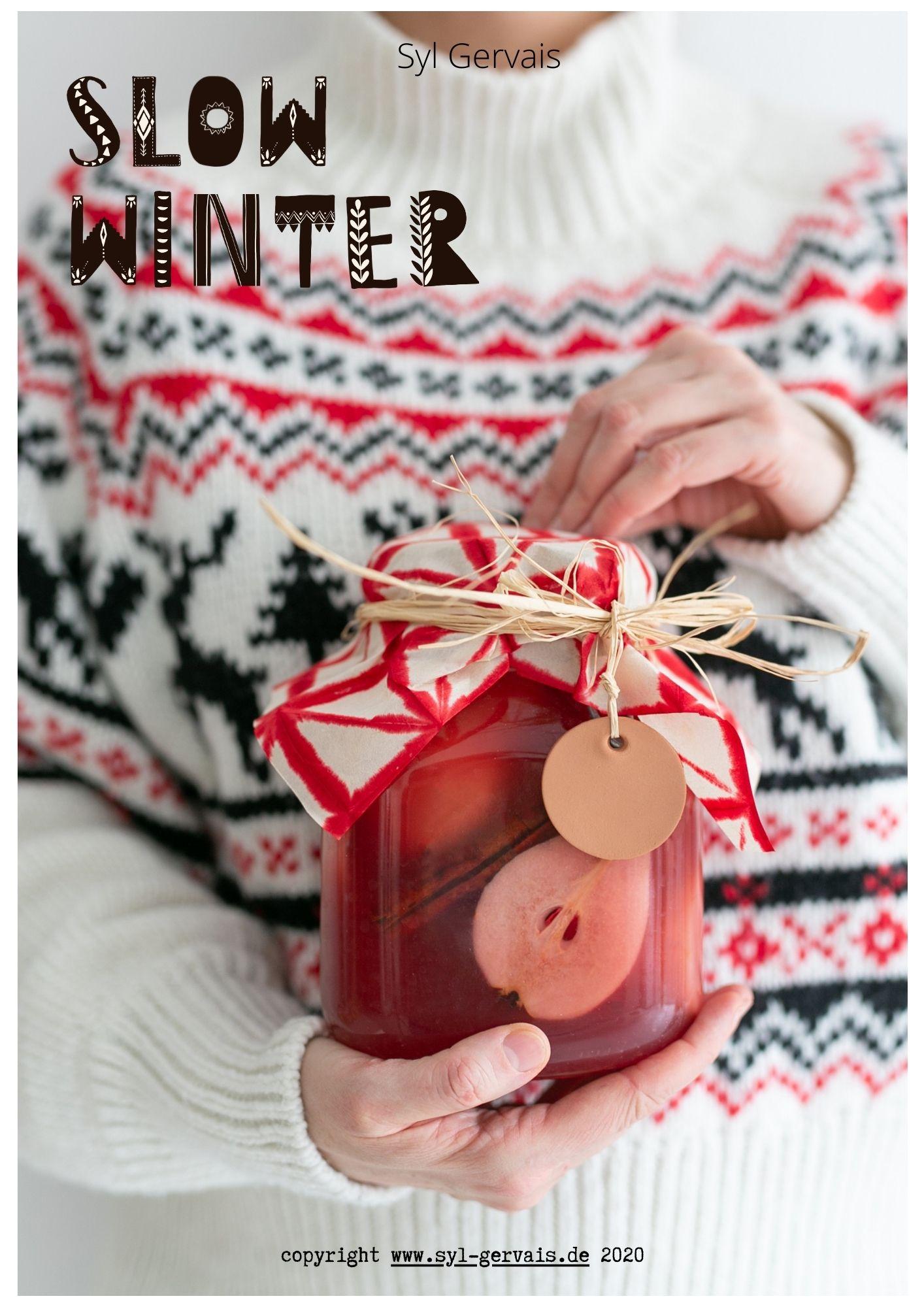 Winter Shrubs | Gesunde vegane Rezepte, Fermentation, Nachhaltigkeit - Syl Gervais